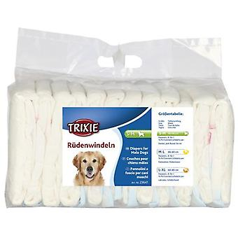 Trixie Dog Diapers Macho 12 Units (Dogs , Grooming & Wellbeing , Diapers)