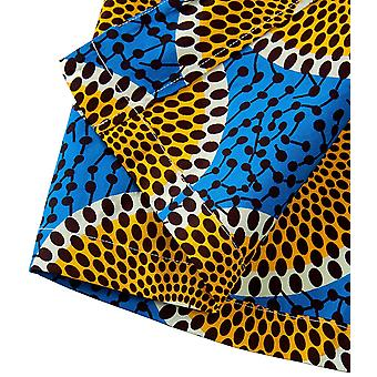 Aikaplus Donne Africane Giacca Cappotto Stampa Shawl Ankara Floral (XX-Grande, Colore...