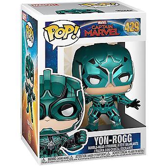 Funko Captian Marvel Yon-Rogg Pop! Marvel Vinil #429