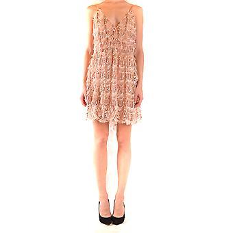 Aniye By Ezbc098015 Women's Pink Polyester Dress