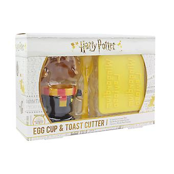 Hermione Egg Cup e Toast Cutter Set Kids Hard Boiled Breakfast Egg Cups