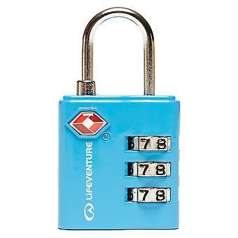 Nieuwe LIFEVENTURE TSA combi Lock blauw