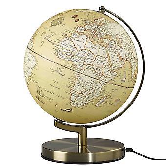 "Wild & Wolf Wild Wood Vintage Globe Light 10"""