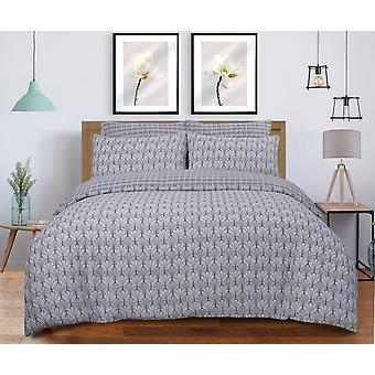 Scallop Grey Bedding Grey Bedding Set