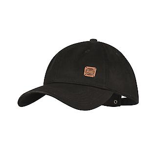 Buff Curve Baseball Cap ~ Solid black