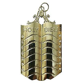 Masonic regalia silver collar jewel - chaplain