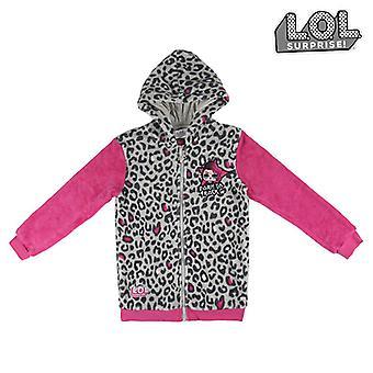 Hooded Sweatshirt för Girls LOL Surprise! 74834 Grårosa