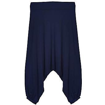 Ladies Drop Crotch Harem Trousers