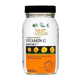 NHP Vitamin C Capsules 60 (44627)