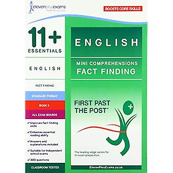 11+ Essentials English - Mini-Comprehensions Fact-Finding Book 2 - 978