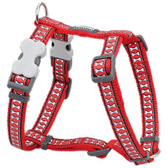 Red Dingo Harness One Touch Reflective RD