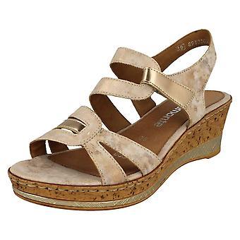 Dames Remonte Wedge Heeled Sandals D4751