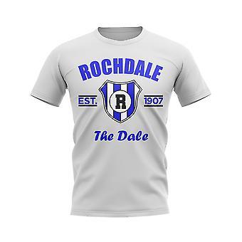 Rochdale Established Football T-Shirt (White)