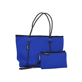WILLOW BAY AU BOUTIQUE Neopreen Tote Bag - ELECTRIC BLUE
