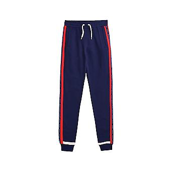 Esprit Girls' Colour Block Tracksuit Bottoms With Logo Trims