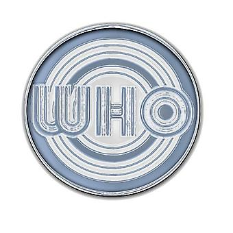 The Who Circle MOD Logo new Official Metal lapel Pin badge
