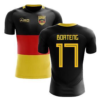 2020-2021 Tyskland Flagga Concept Fotbollströja (Boateng 17)