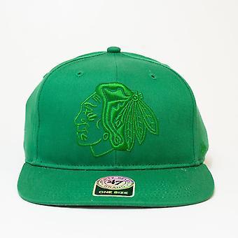 '47 Nhl Chicago Blackhawks Grün verstellbare Kappe