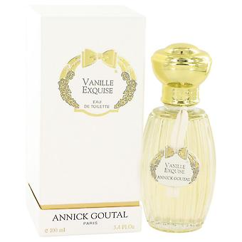 Vanille Exquise Eau De Toilette Spray By Annick Goutal 3.4 oz Eau De Toilette Spray
