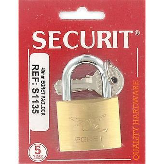 Securit Egret Cylinder Action Padlock