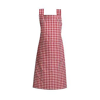 Gingham Aprons Set Of 4 Red