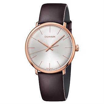 קלווין קליין K8M216G6 בצהרי הבוקר קוורץ כסף בחיוג גברים ' s שעון