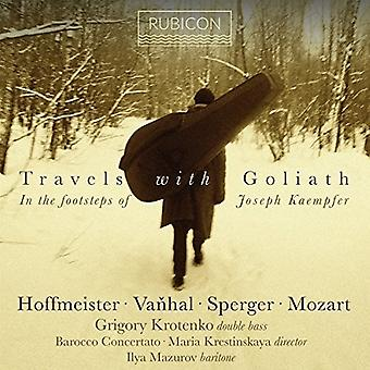 Grigory Krotenko - Travels with Goliath [CD] USA import