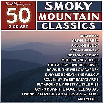 Various Artist - 50 Smoky Mountain Classics [CD] USA import