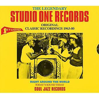 Legendary Studio One Records:Recordings 1963-80 - Legendary Studio One Records:Recordings 1963-80 [CD] USA import