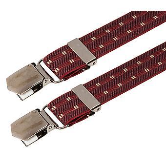 LLOYD suspenders men suspenders Bordeaux 2921