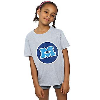 Disney Girls Monsters University Monster Emblem T-Shirt
