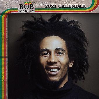 Bob Marley Calendar 2021 Official Wall Calendar 2021, 12 months, original English version.