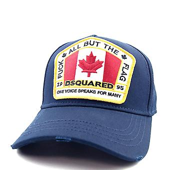 Dsquared2 Canadian Flag Cap Navy