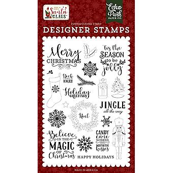 Echo Park Magic Of Christmas Clear Timbres