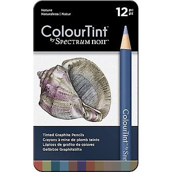 Spectrum Noir Spectrum ColourTint Graphite Pencils Nature (12pc) (SPECCT-NAT12)