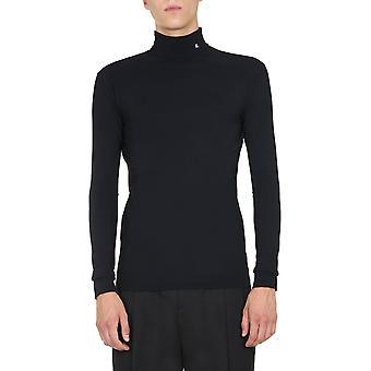 Raf Simons 2021501901600099 Pull en nylon noir pour hommes