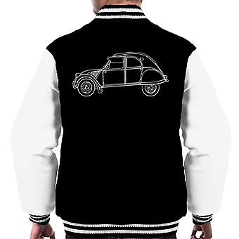Citro n Vintage 2CV Art Men's Varsity Jacket