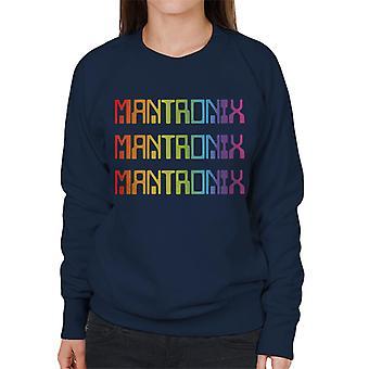 Mantronix The Album Cover Rainbow Shimmer Flex Women's Sweatshirt
