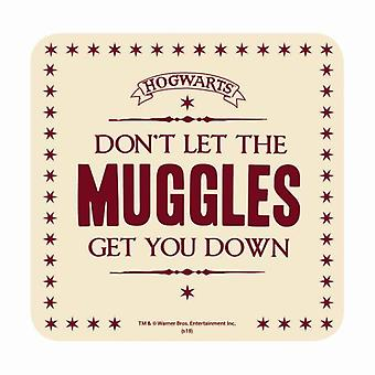 Harry Potter Coaster Dont let the Muggles get you down new Official
