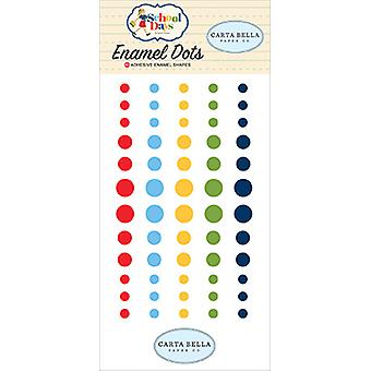 Carta Bella School Days Enamel Dots