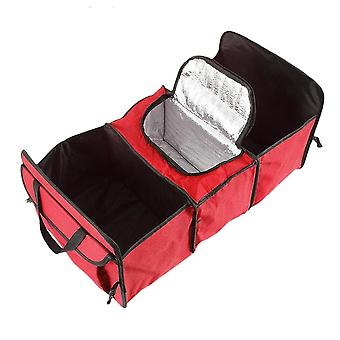 Collapsible Luggage Room Box - Red