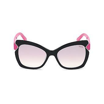 Emilio Pucci - Accessoires - Zonnebrillen - EP0090_01Z - Dames - zwart,hotpink