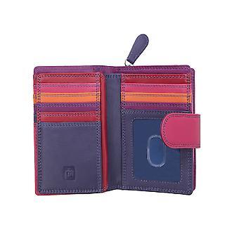 Primehide RFID blokkerer kvinners lær vesken lommebok ladies kortholder 6080
