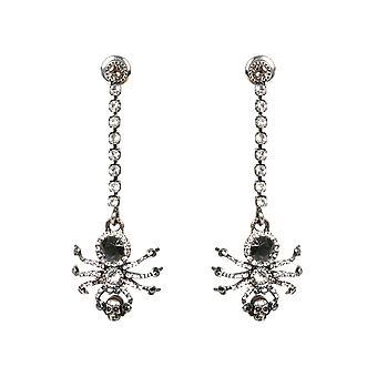Alexander Mcqueen 589887j160y9175 Frauen's Silber Messing Ohrringe