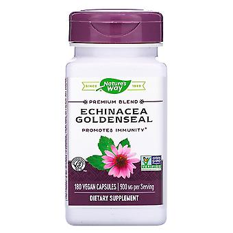 Nature-apos;s Way, Echinacea Goldenseal, 900 mg, 180 Capsules végétaliennes