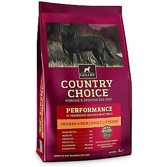 Gelert Country Choice Performance Huhn & Reis - 2kg