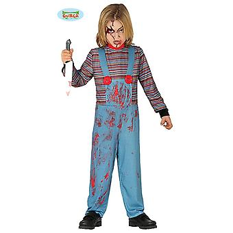 Assassinato boneca Chucky Halloween costume Kids Boys