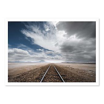 Art-Poster - The long road - Anton Rostovski