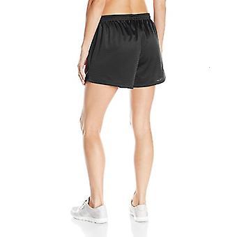 Hanes Women's Sport Mesh Short, Black, Large