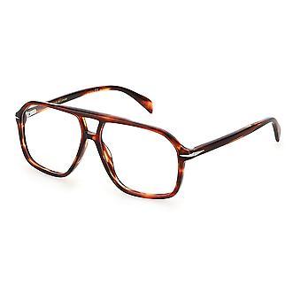 David Beckham DB7018 0UC Red Havana Glasses